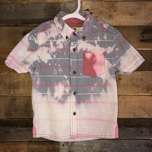 Other - 4t dip dyed button up